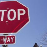New Four-Way Stop Sign