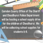 School Supply Drive | Chesilhurst PD